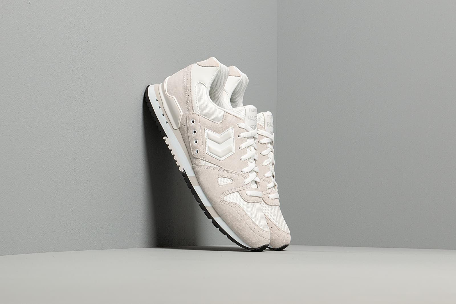 Încălțăminte și sneakerși pentru bărbați hummel Marathon GBW White