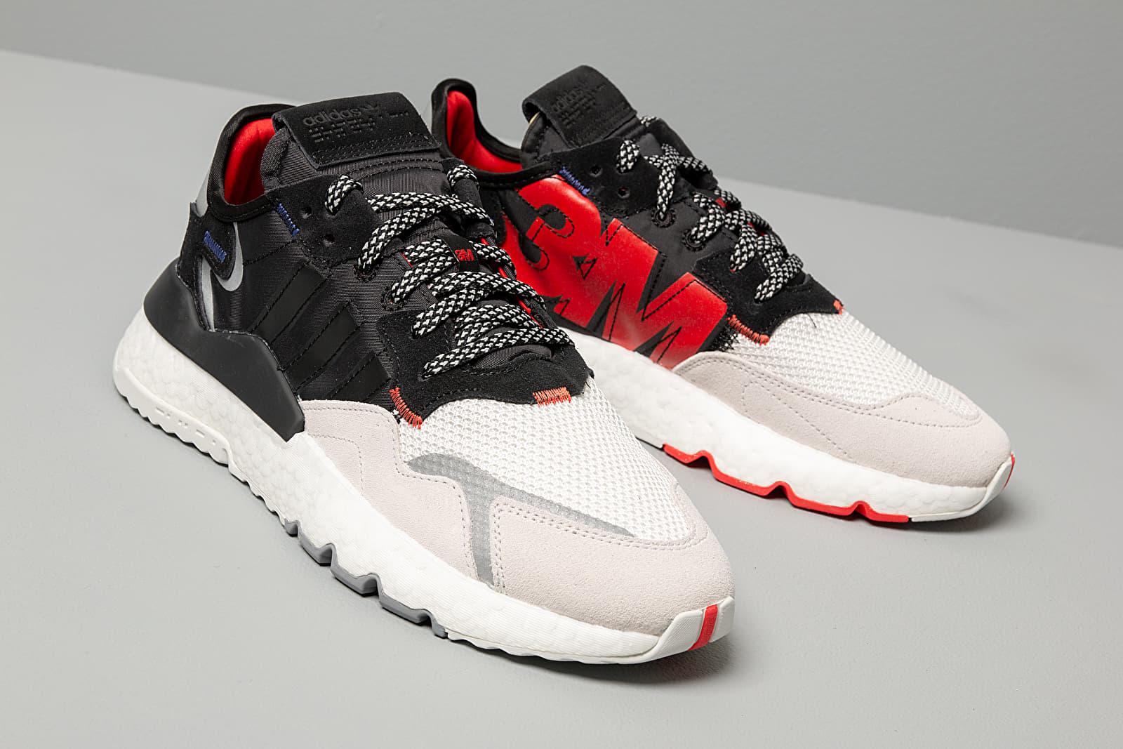 adidas Nite Jogger 3M Core Black/ Core Black/ Crystal White | Footshop