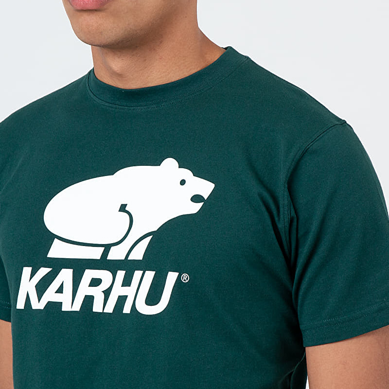 Karhu Basic Logo Tee June Bug/ White, Green