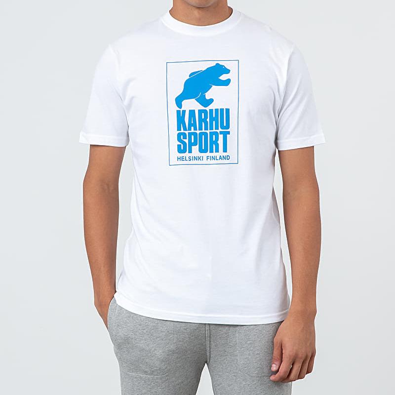 Karhu Helsinki Sport Tee White/ Royal Blue XXL