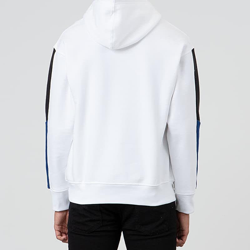 Levi's® Racer Sleeve Hit Hoodie White