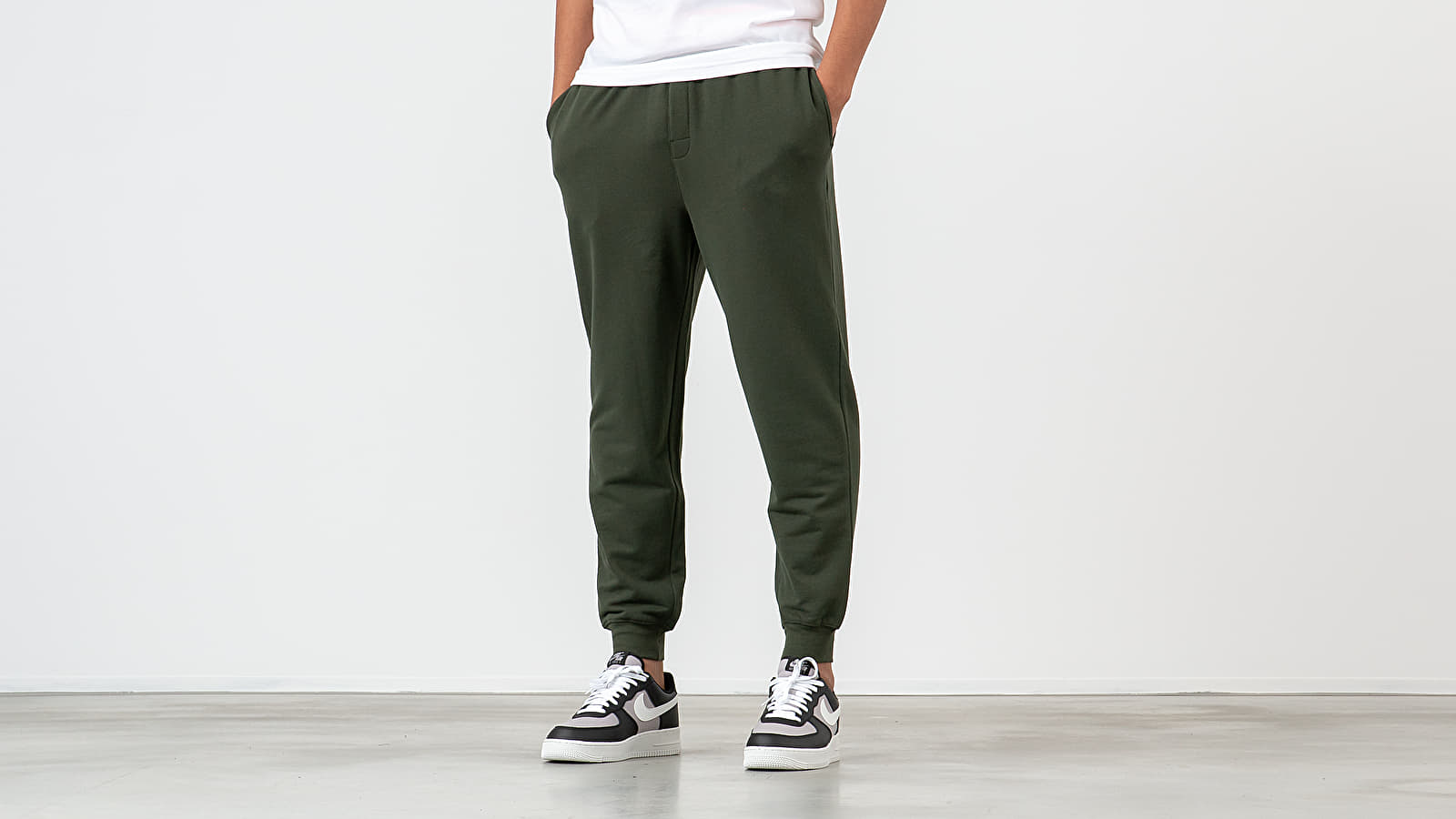 Spodnie Calvin Klein Jogger Pants Green