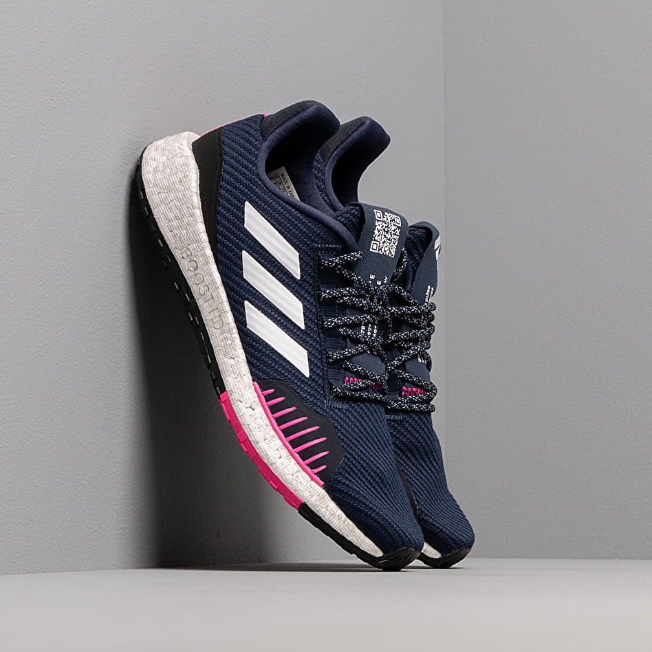 adidas PulseBOOST HD WNTR Collegiate Navy/ Ftw White/ Shock Pink EUR 38