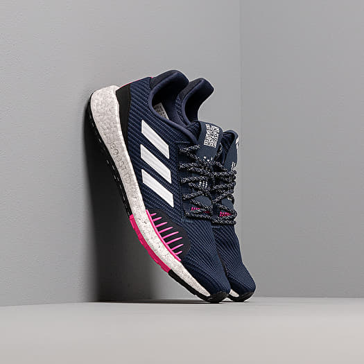 adidas PulseBOOST HD Winter Collegiate Navy Ftw White Shock Pink | Footshop