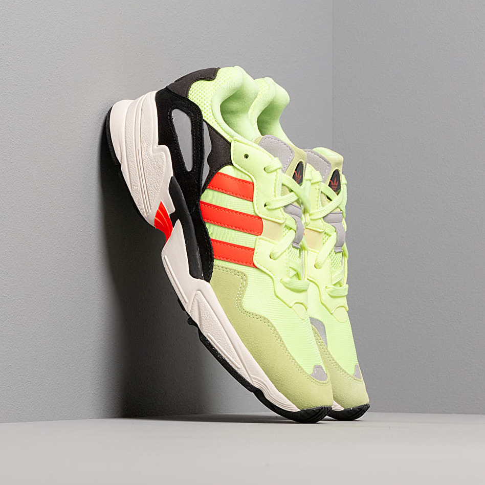adidas Yung-96 Hi-Res Yellow/ Solar Red/ Off White EUR 44 2/3