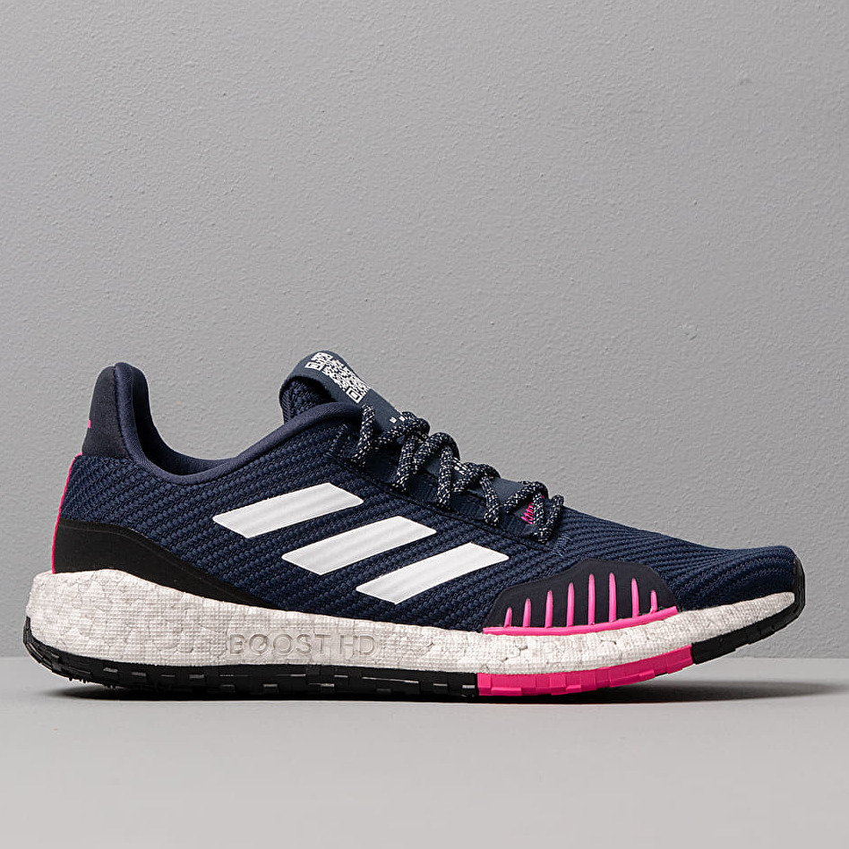 adidas PulseBOOST HD Winter Collegiate Navy/ Ftw White/ Shock Pink