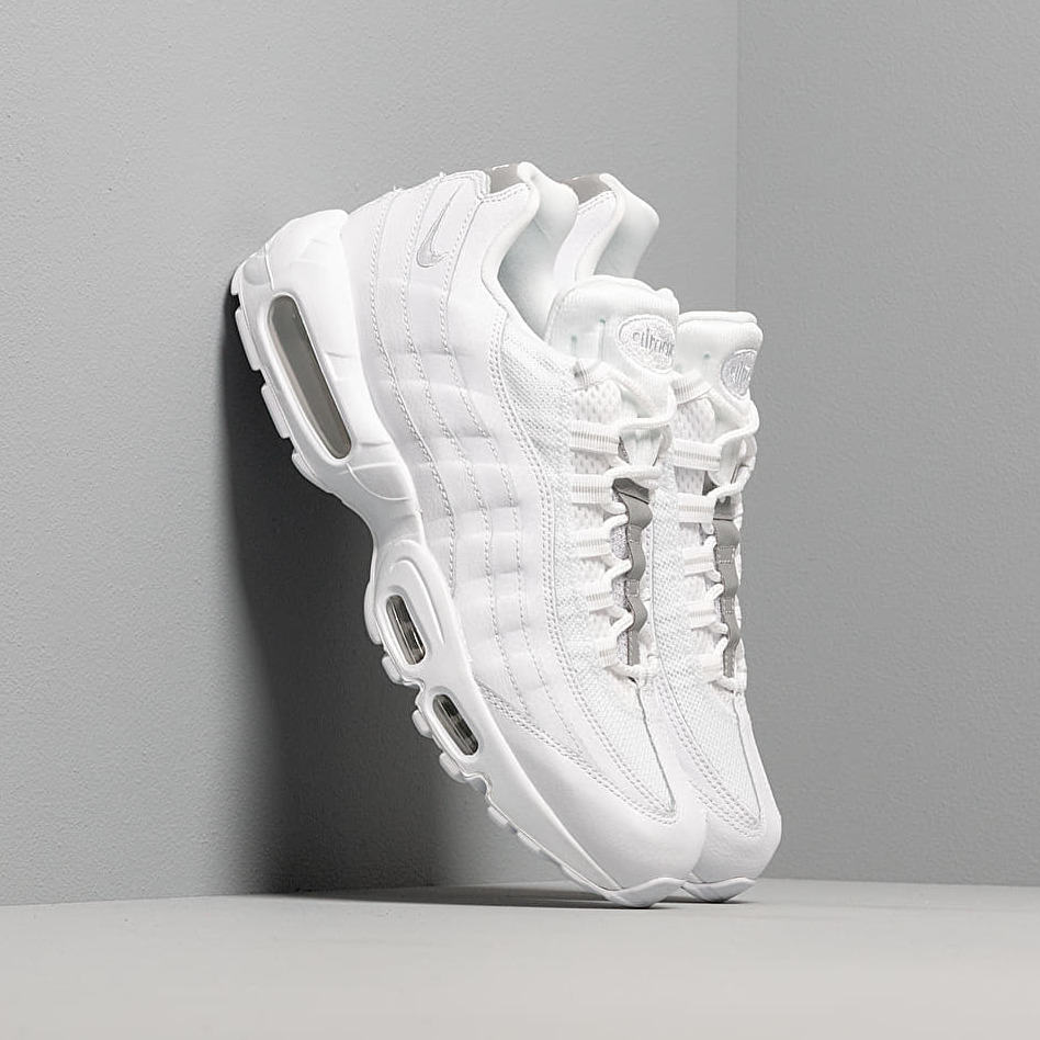 Nike Air Max 95 Essential White/ White-Pure Platinum-Reflect Silver EUR 47.5