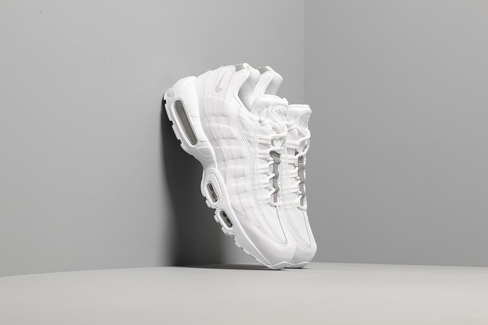 Chaussures et baskets homme Nike Air Max 95 Essential White/ White-Pure Platinum-Reflect Silver