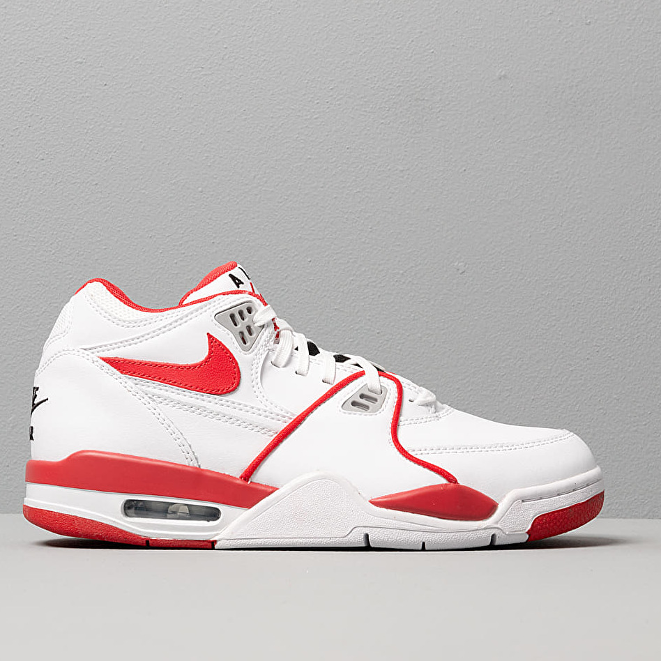 Nike Air Flight 89 Le White/ University Red-White-Wolf Grey
