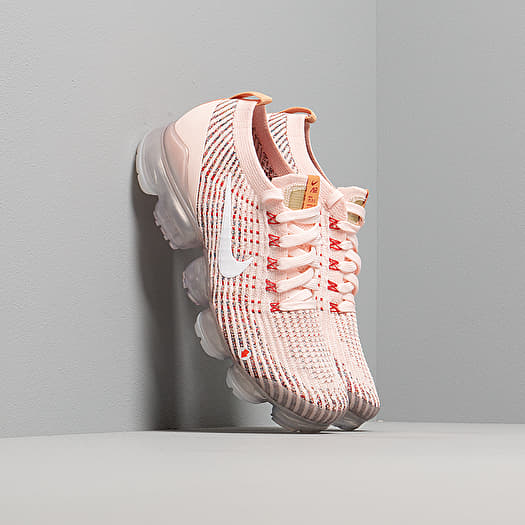 recoger siguiente Profesor  Women's shoes Nike W Air Vapormax Flyknit 3 Sunset Tint/ White-Blue  Force-Gym Red