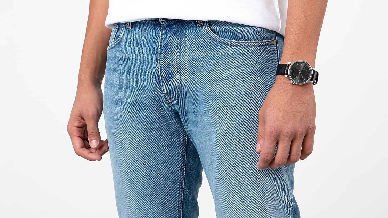 AMI Alexandre Mattiussi Fit Jeans Used Blue | Footshop