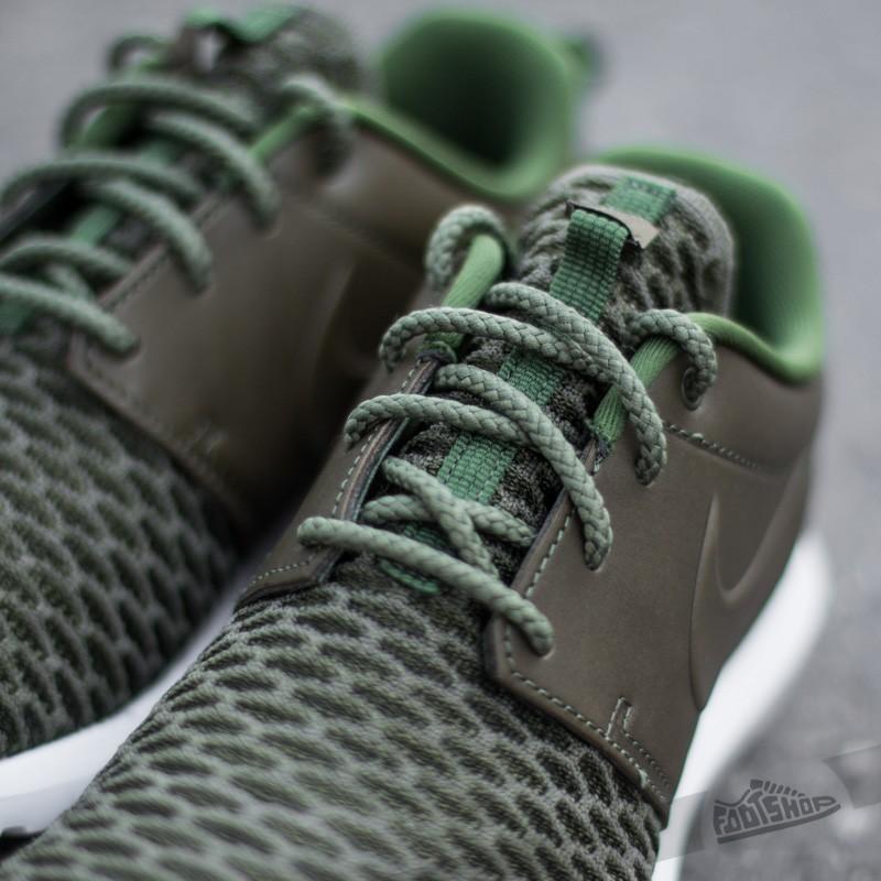 Nike Roshe NM Flyknit Premium Rough Green Black Sequoia   Footshop