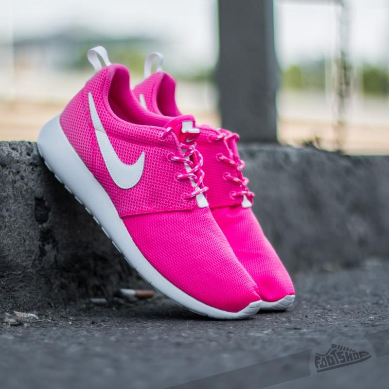 a2baf1a02194 Nike Roshe One (GS) Hyper Pink  White