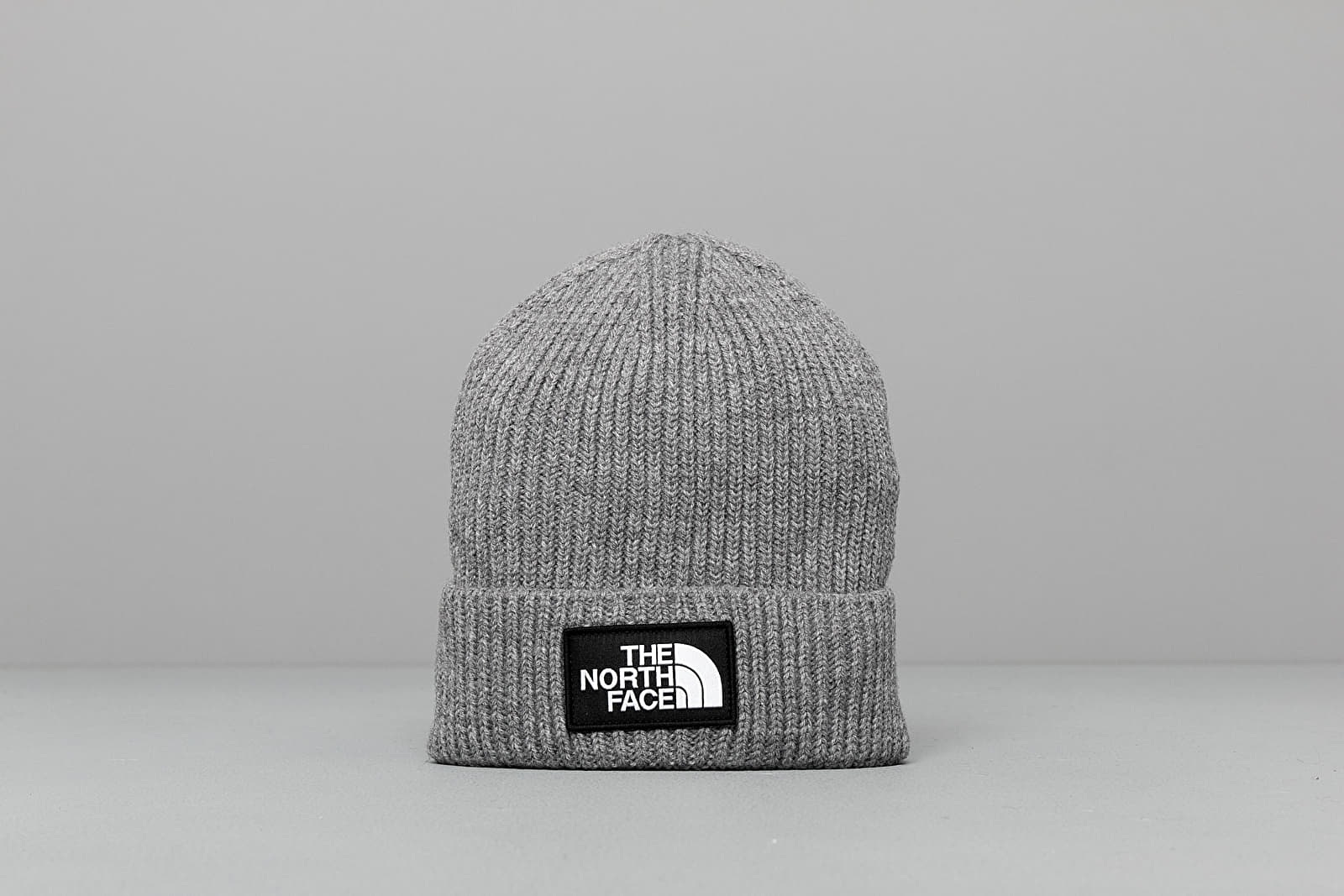 Accessori The North Face Tnf Logo Box Cuffed Beanie Tnf Medium Grey Heather
