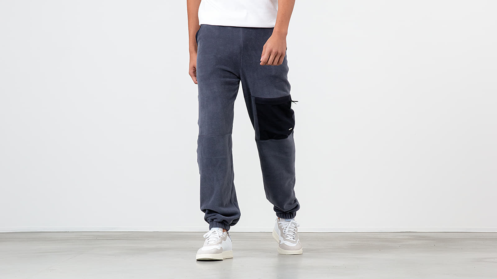 Tepláky WOOD WOOD Sigurd Trousers Steel Blue