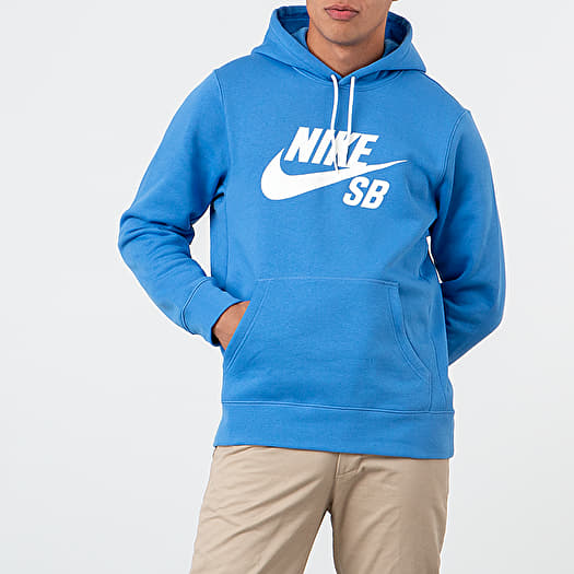 Nike Sportswear SB Icon Essential Hoodie Pacific Blue Sail