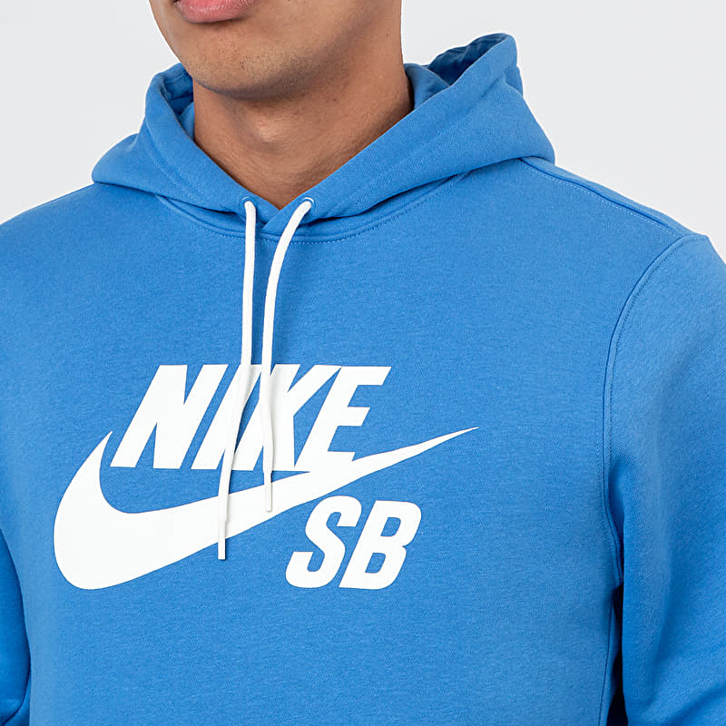 Nike Sportswear SB Icon Essential Hoodie Pacific Blue/ Sail