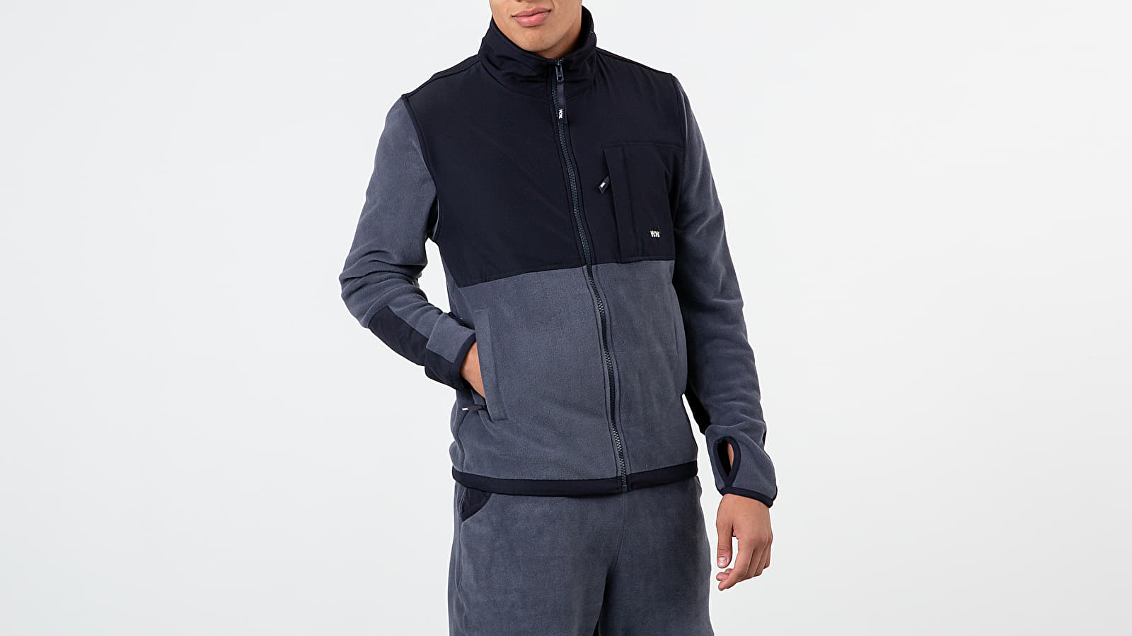 Jackets WOOD WOOD Hannes Jacket Steel Blue