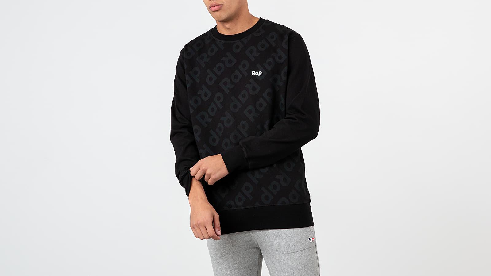 Sweatshirts RAP Crewneck Black