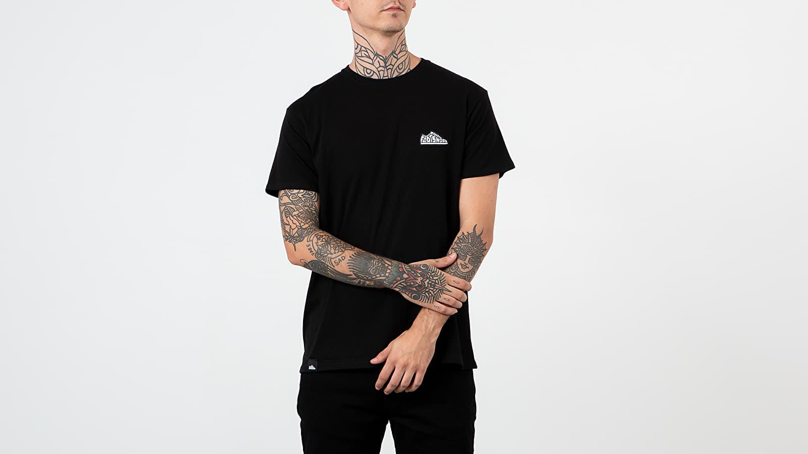 T-shirts Footshop Logo Tee Black
