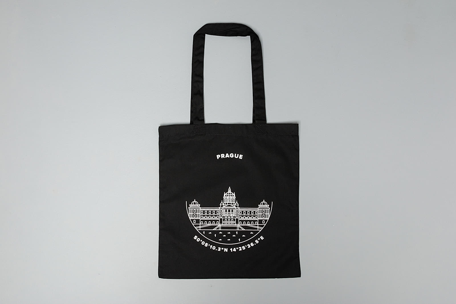 Bags and backpacks Footshop Prague Old Town Tote Bag Black