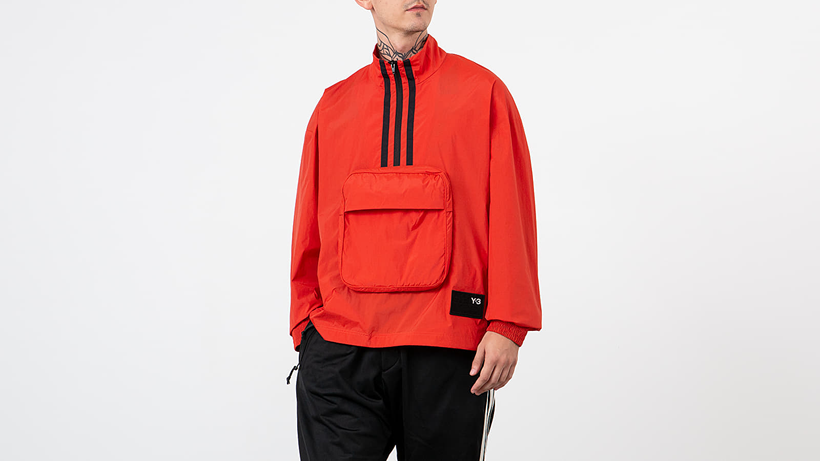 Y-3 Packable H-Zip Shell Track Jacket