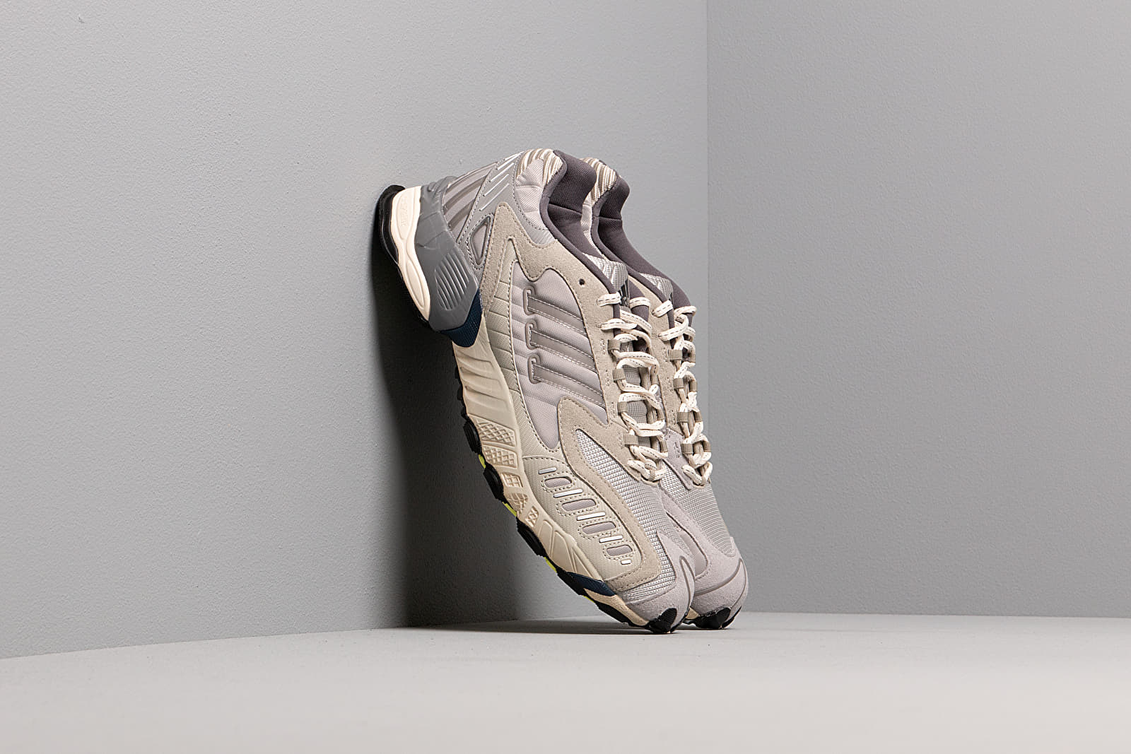 Pánské tenisky a boty adidas Consortium x Norse Projects Torsion TRDC Clear Brown/ Raw Grey S18/ Frozen Yellow