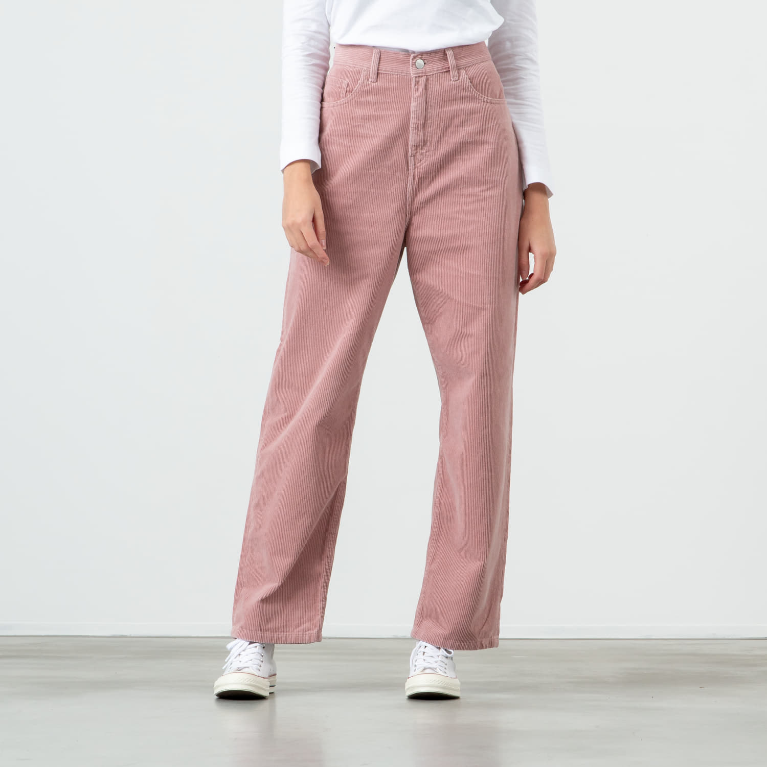 Pants and jeans Carhartt WIP Newport Pants Blushed Rinsed