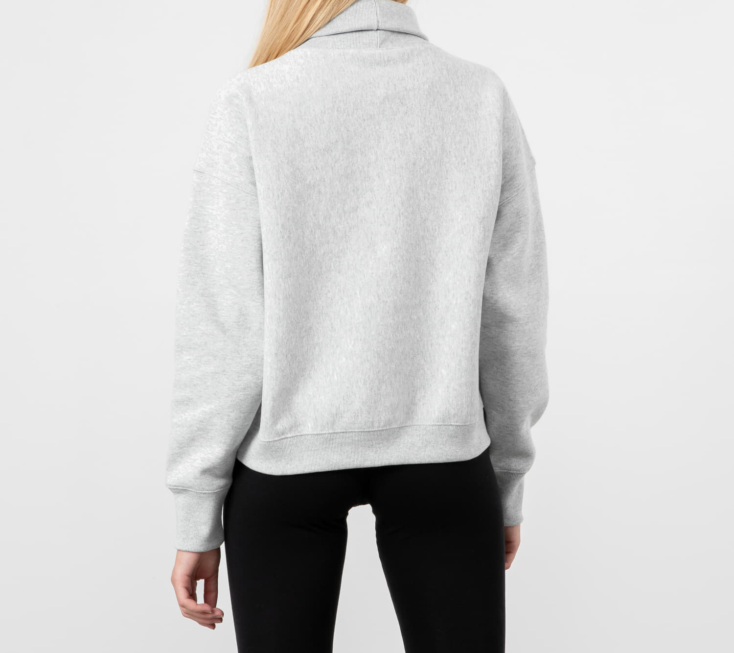 Champion Rollneck Heather Grey, Gray