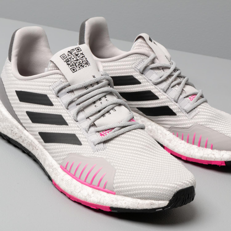 adidas PulseBOOST HD Winter W Grey Two Core Black Shock Pink | Footshop