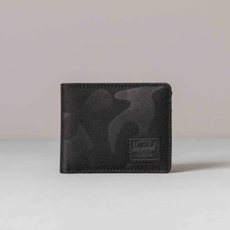Pénztárcák Herschel Supply Co. Coin Delta Roy Wallet Black/ Tonal Camo