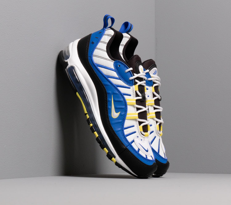 Nike Air Max 98 Racer Blue/ White-Black-Dynamic Yellow EUR 43