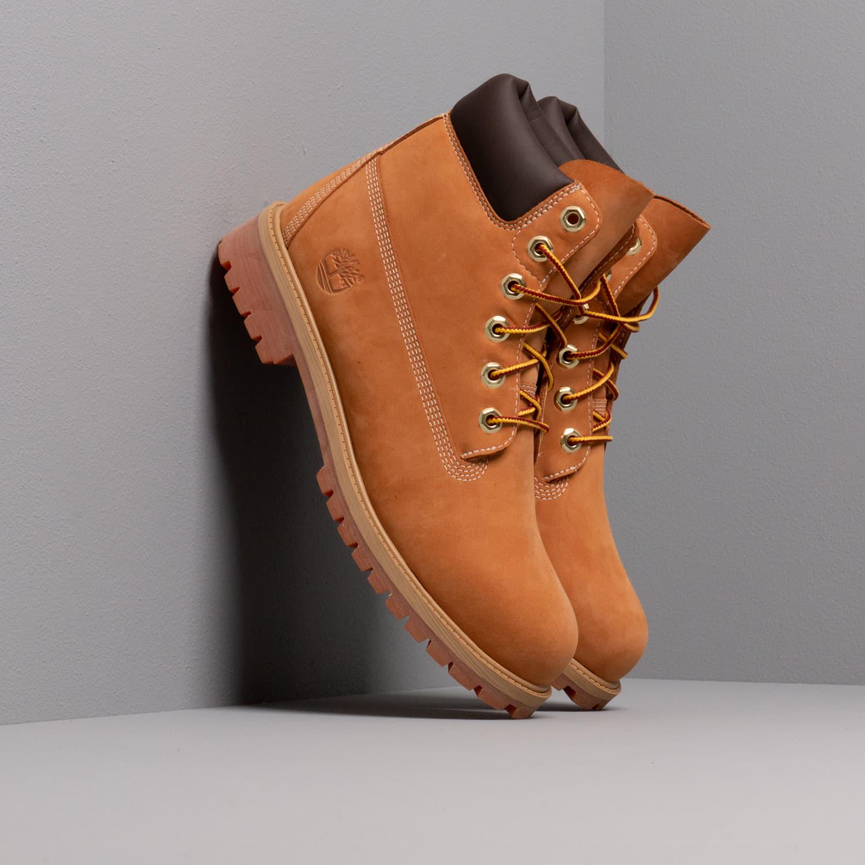 Timberland 6-Inch Premium Boot Wheat Nubuc