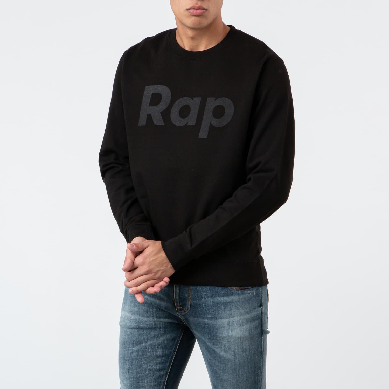 Hanorace și bluze RAP Crewneck Black