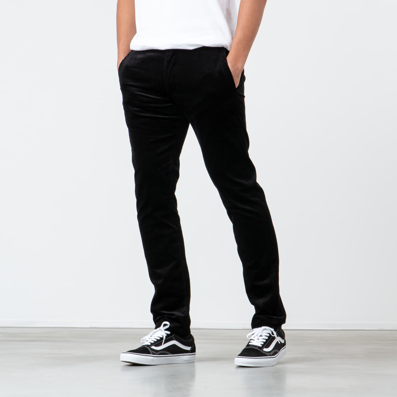 Jeans e pantaloni MAISON KITSUNÉ Chino Parfait Pants Black