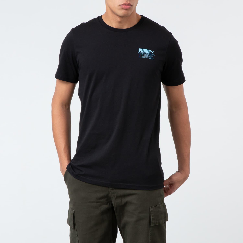 T-shirts Puma x Tetris Tee Black