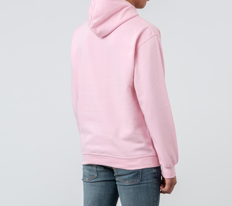 RAP Hoodie Baby Pink/ White