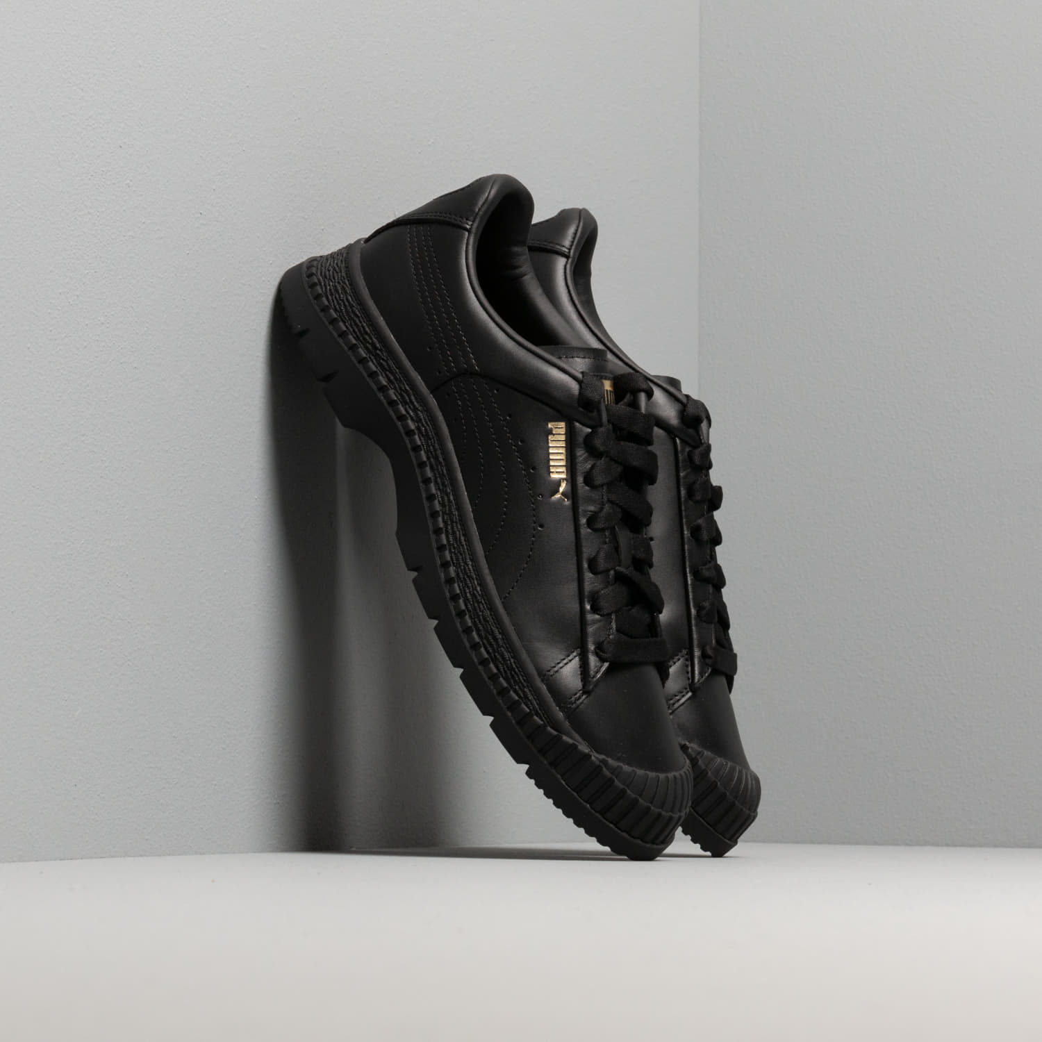 Жіноче взуття Puma Utility Leather Wn s Puma Black