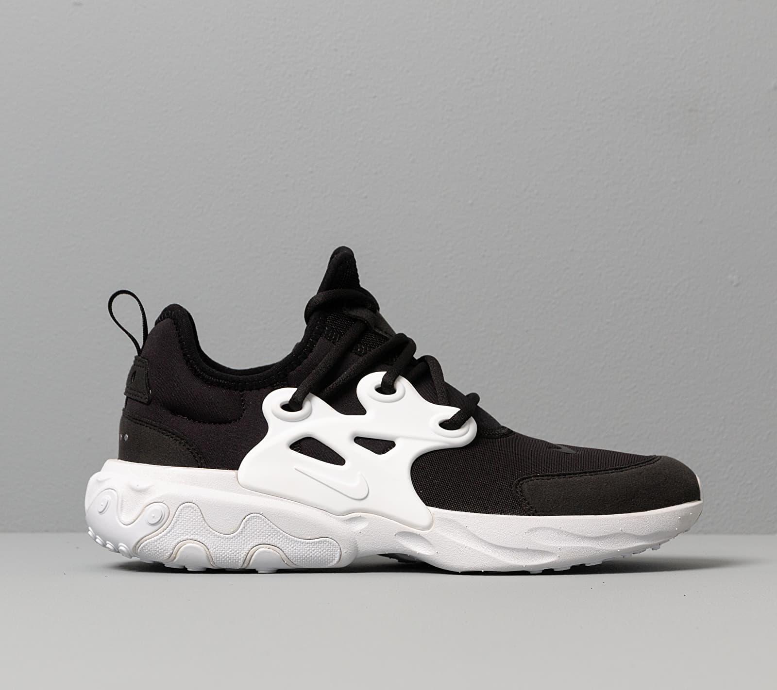 Nike React Presto (GS) Black/ White