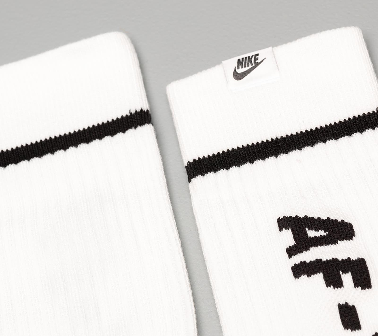 Nike Sportswear 2 Pack AF1 Sneaker Sox Crew White/ Black