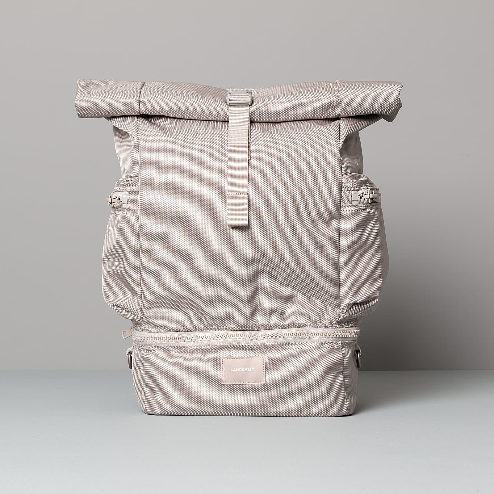 Zaini SANDQVIST Verner Backpack Light Grey