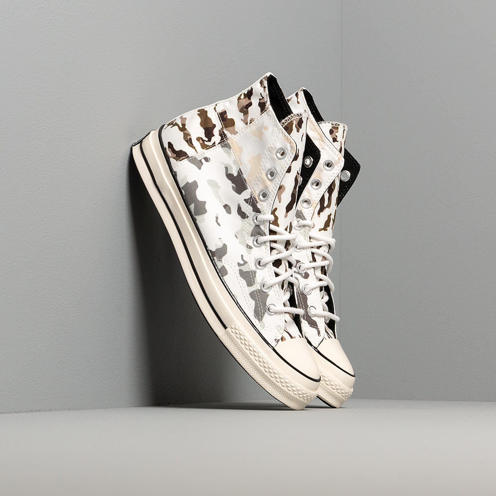 Chaussures et baskets homme Converse Chuck 70 Blocked Camo White/ Carbon Grey/ Egret