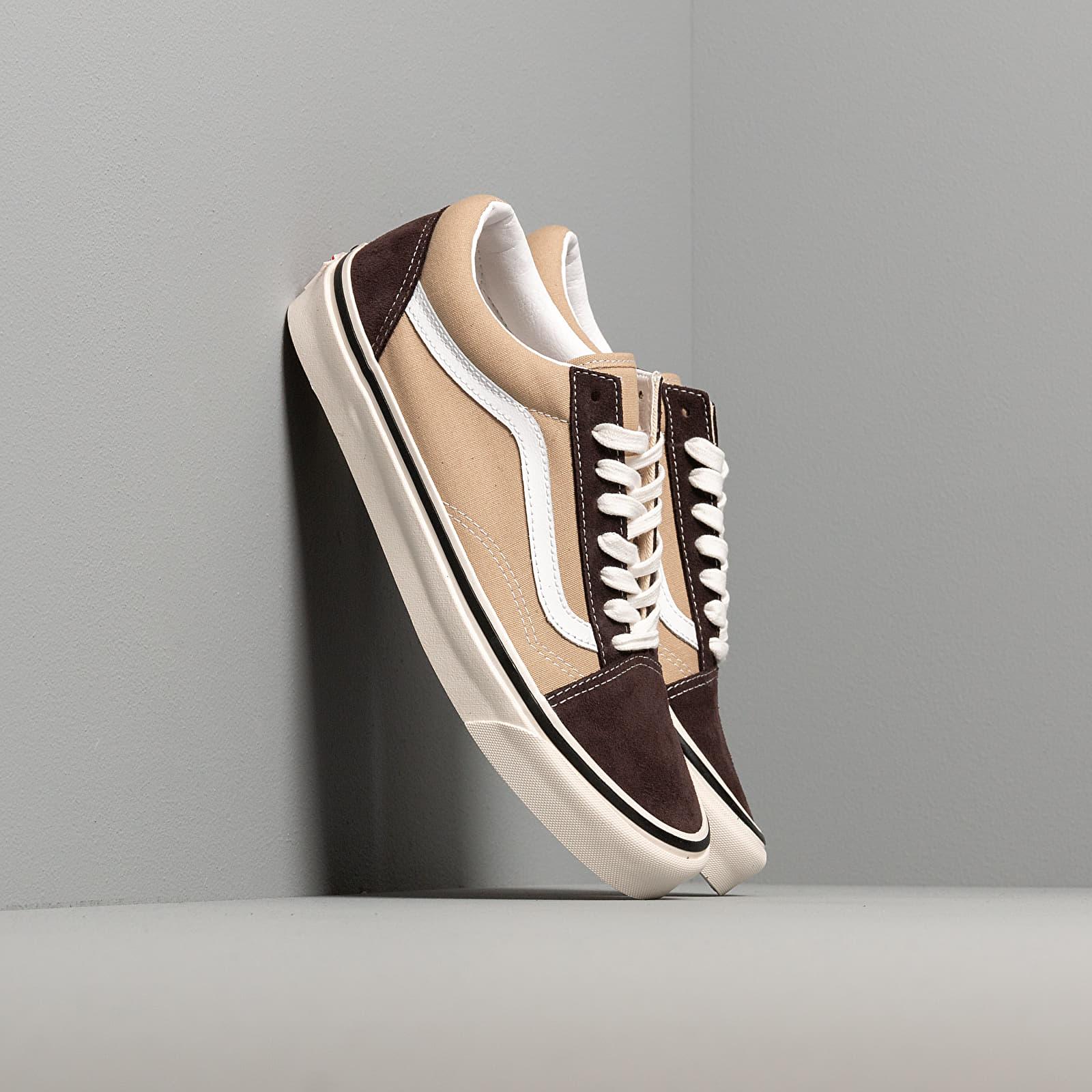 Women's New Style Footwers Vans Old Skool Light Khaki