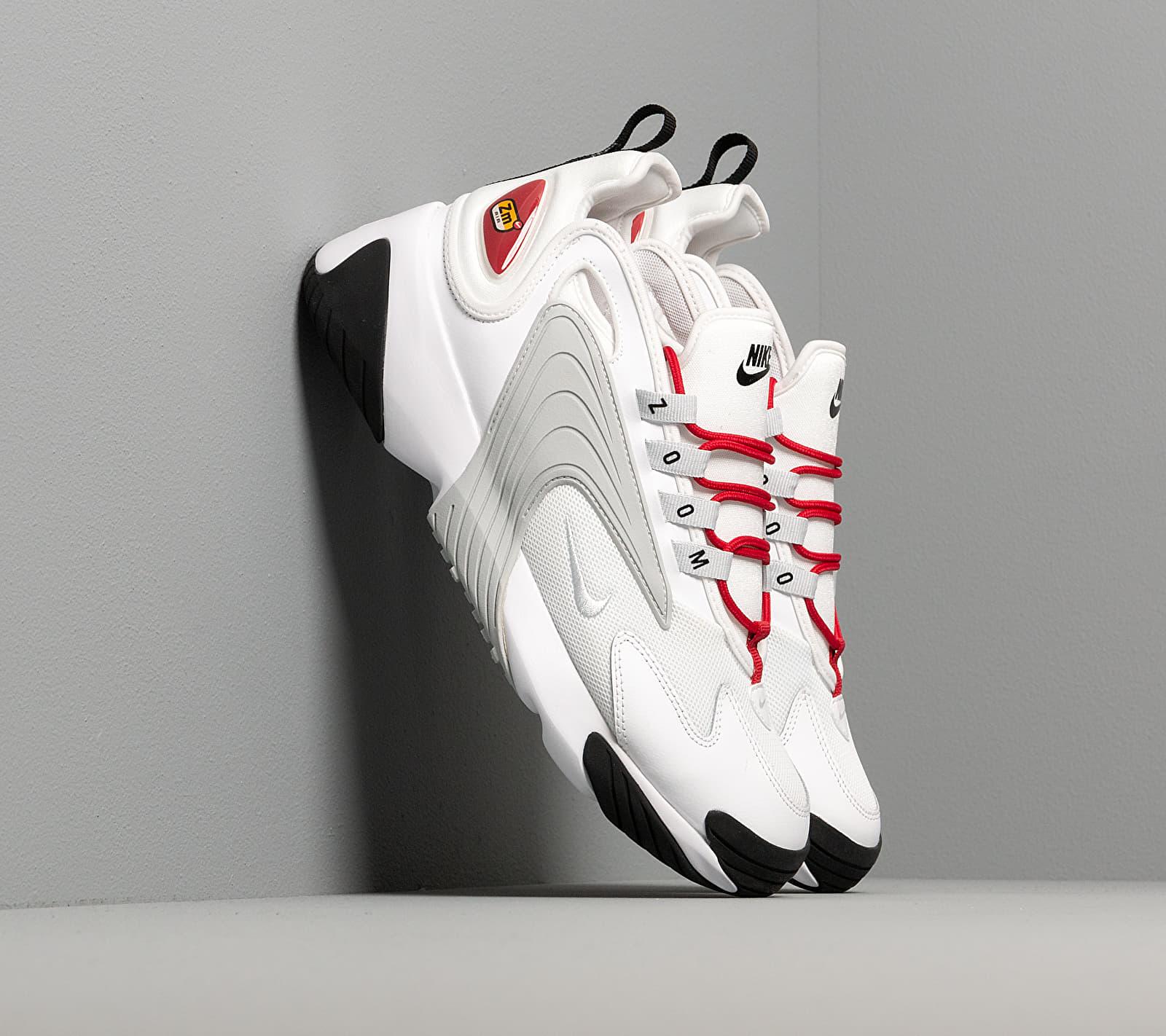 Nike Wmns Zoom 2K White/ Pure Platinum-Gym Red-Black EUR 41