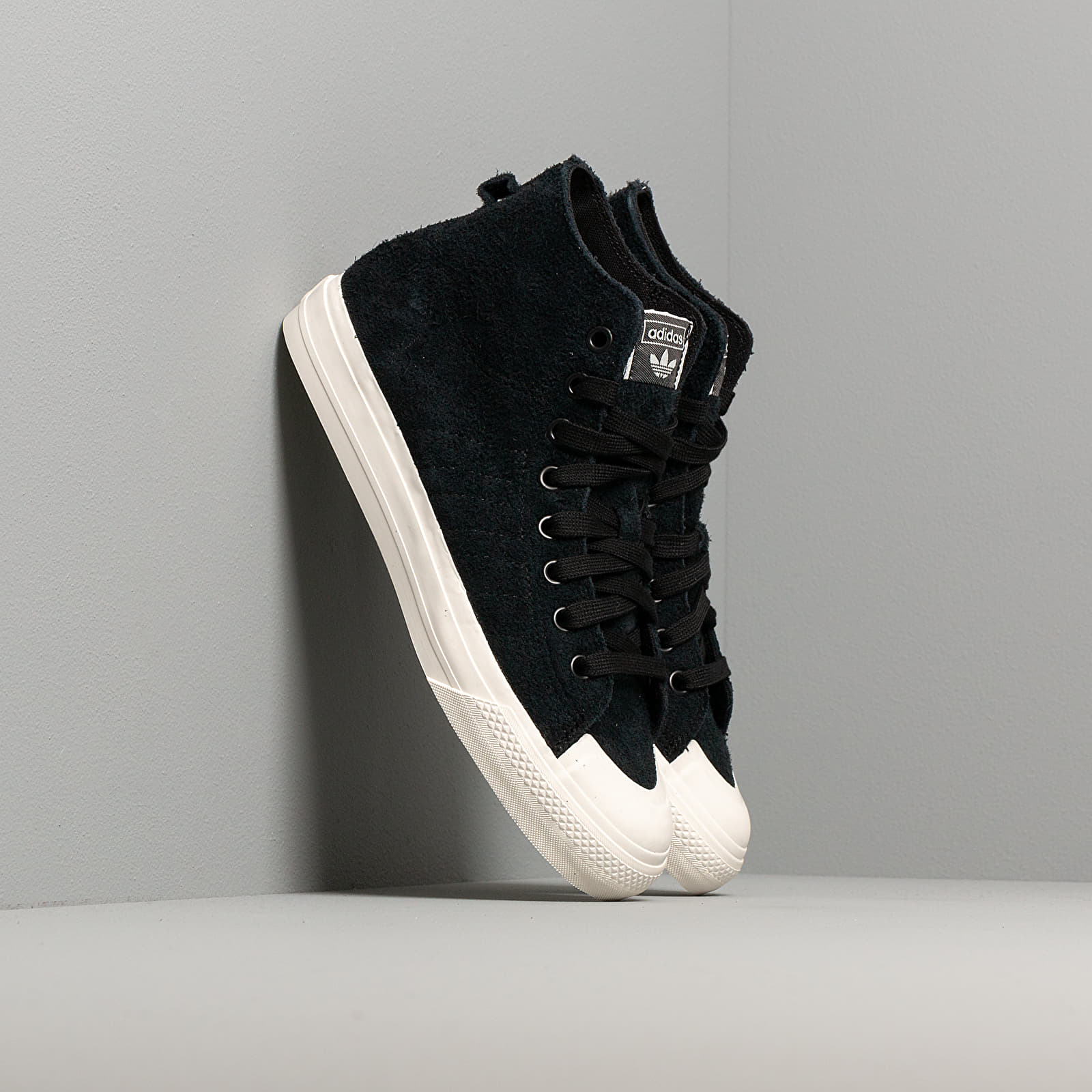 adidas Nizza Hi Rf Core Black Core Black Off White | Footshop