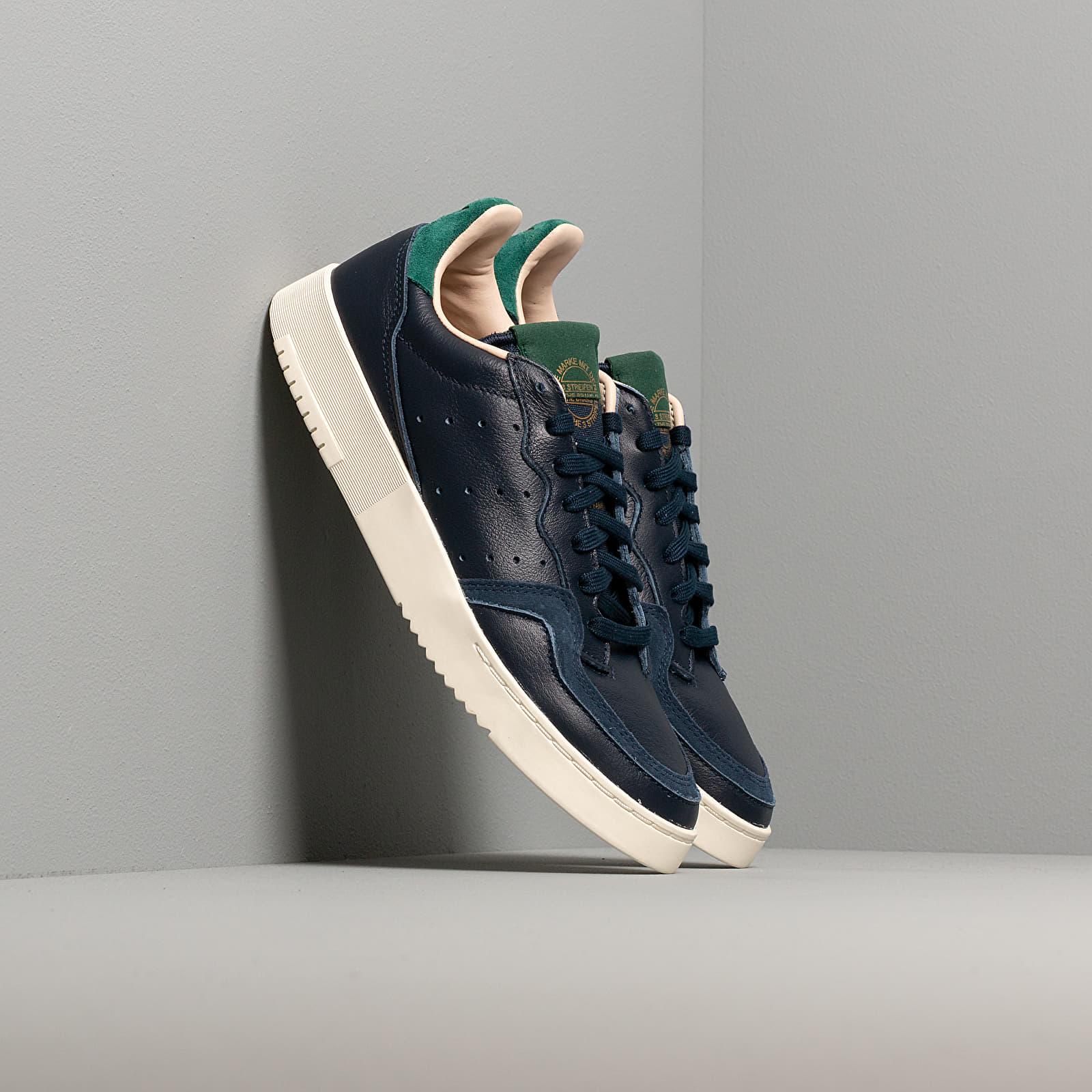 Ανδρικά παπούτσια adidas Supercourt Collegiate Navy/ Collegiate Navy/ Core Green