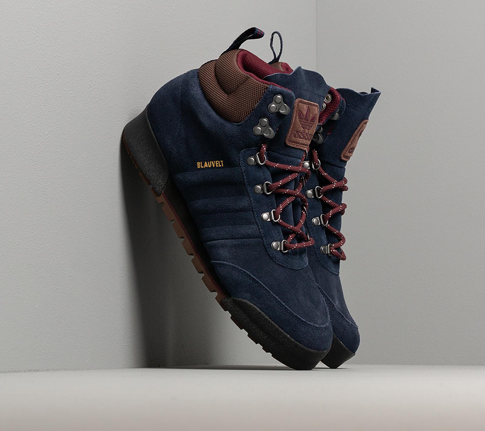 adidas Jake Boot 2.0 Collegiate Navy/ Maroon/ Brown EUR 45 1/3
