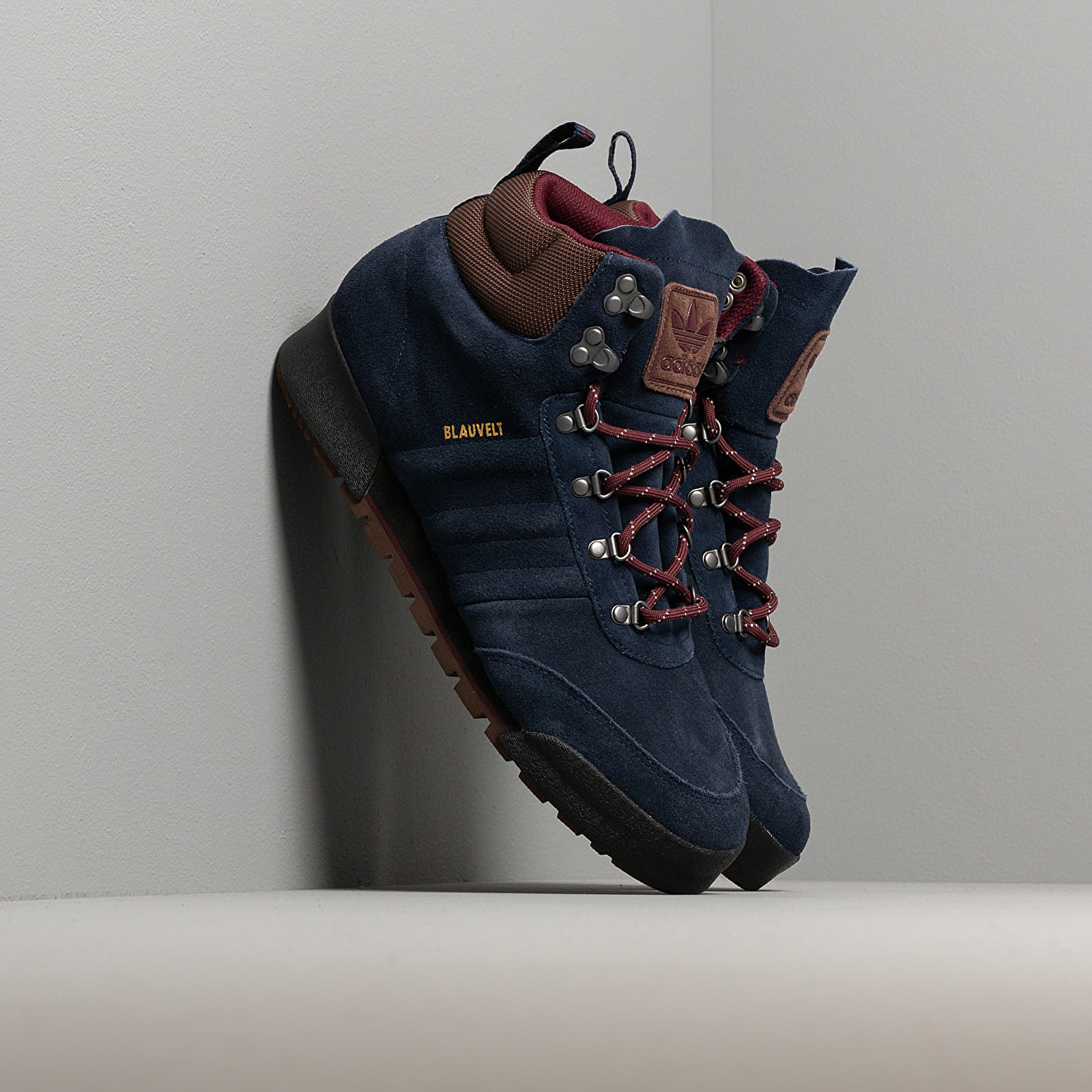 Men's shoes adidas Jake Boot 2.0 Collegiate Navy/ Maroon/ Brown