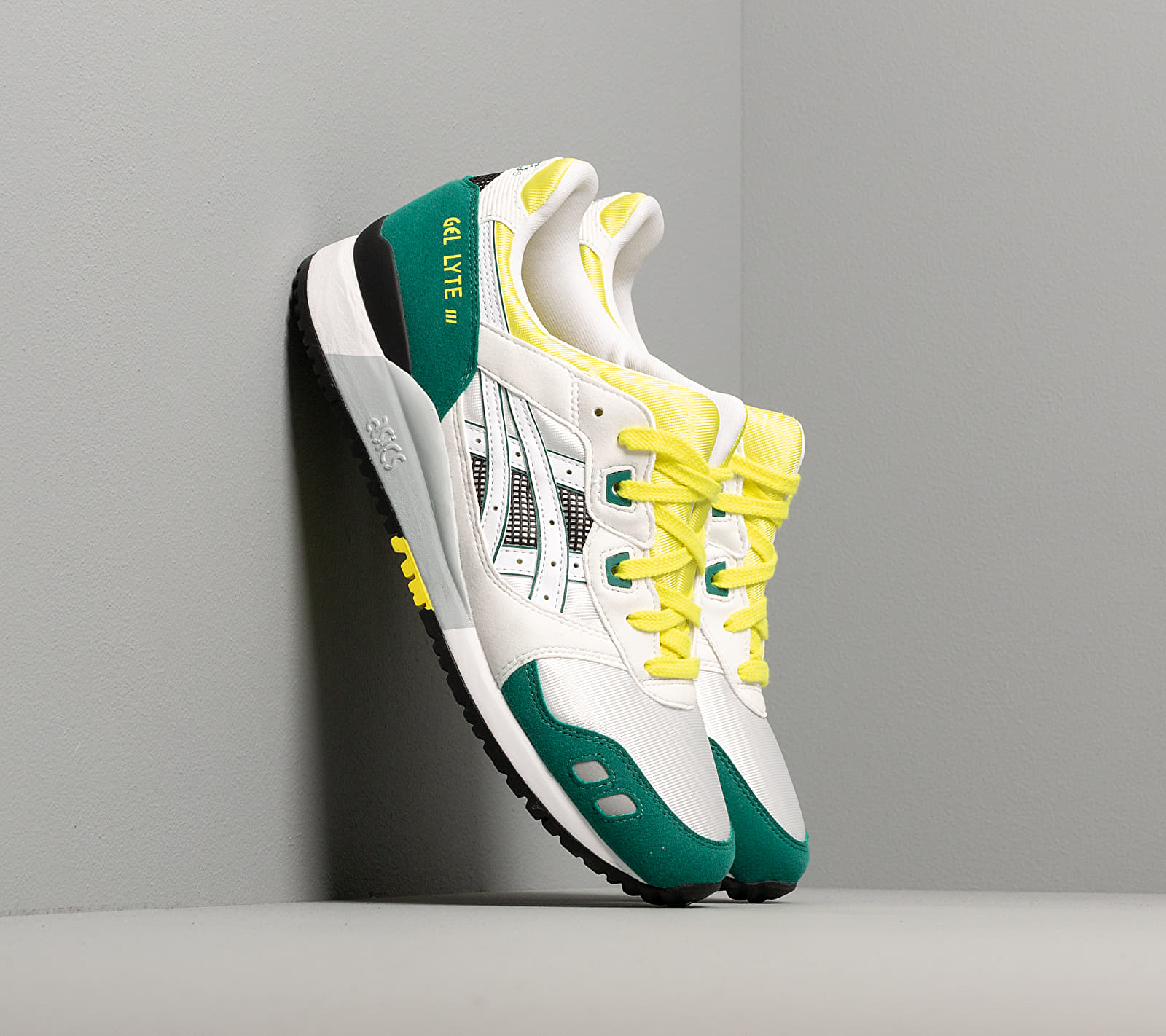 Asics GEL-LYTE III OG White/ Yellow EUR 45