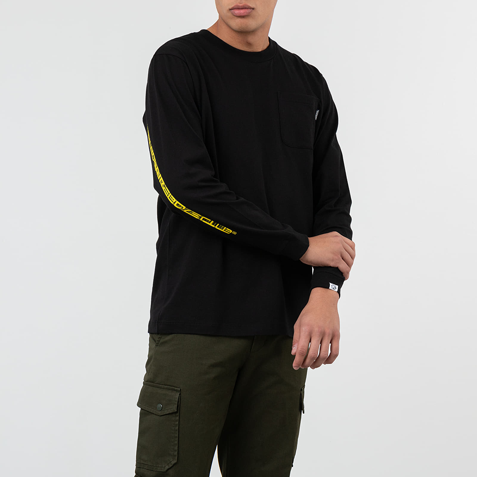 Trička Billionaire Boys Club Kinetic Long Sleeve Tee Black